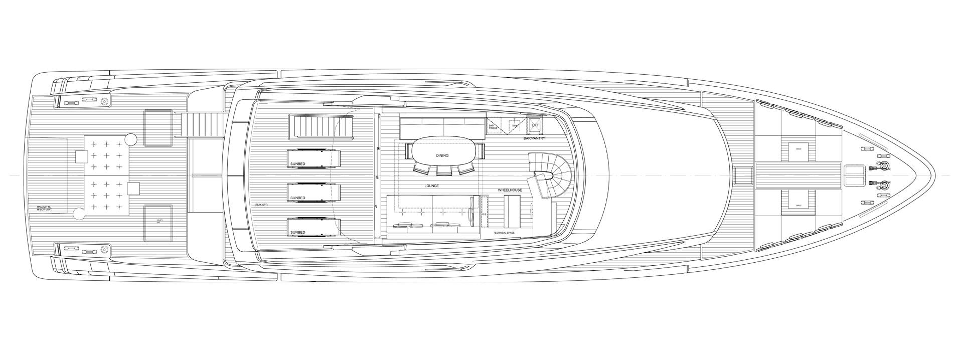 Sanlorenzo Yachts SX112 Flying bridge