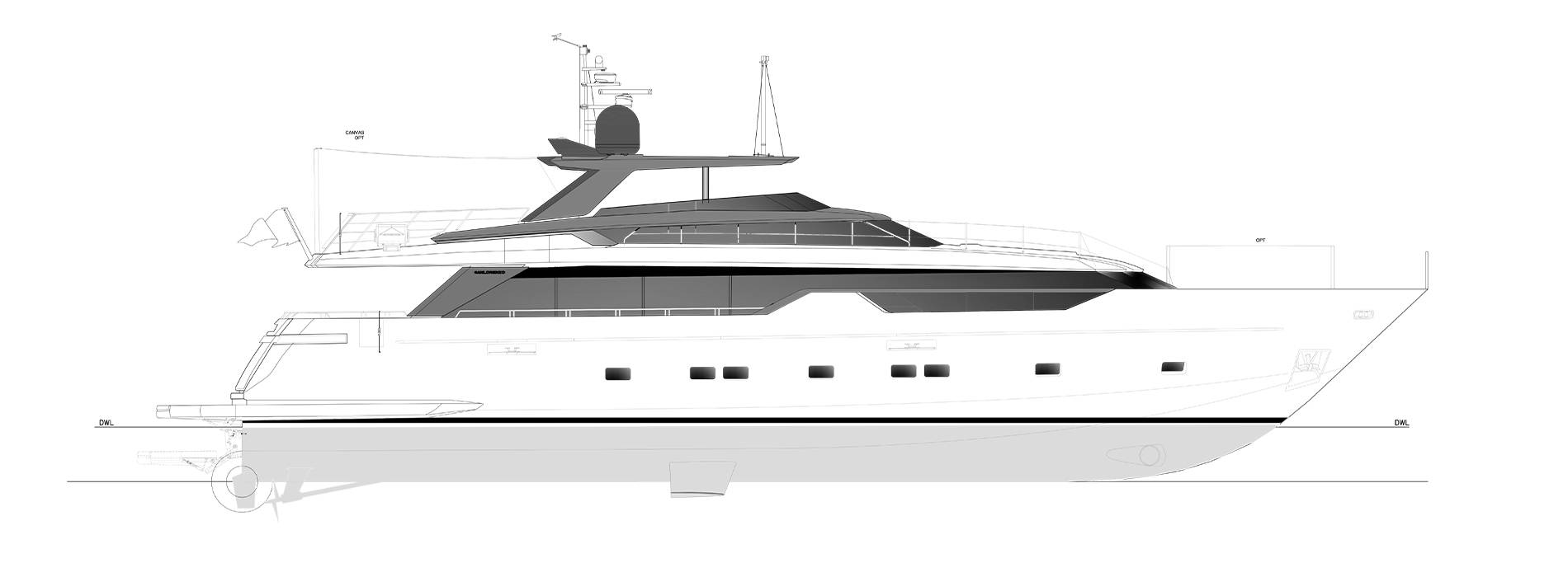 Sanlorenzo Yachts SL102A-746 under offer Profile