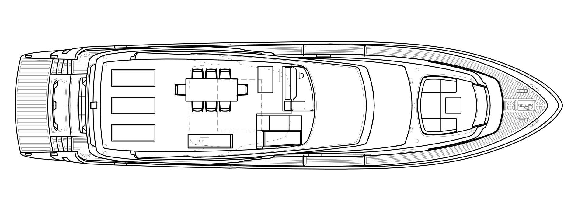 Sanlorenzo Yachts SL78 Flying bridge