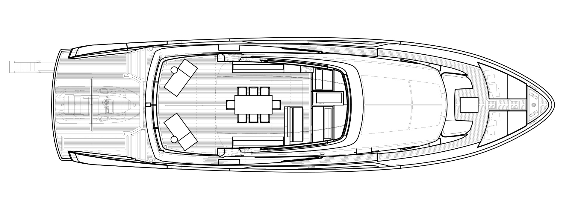 Sanlorenzo Yachts SX88 Flying bridge Version Lissoni