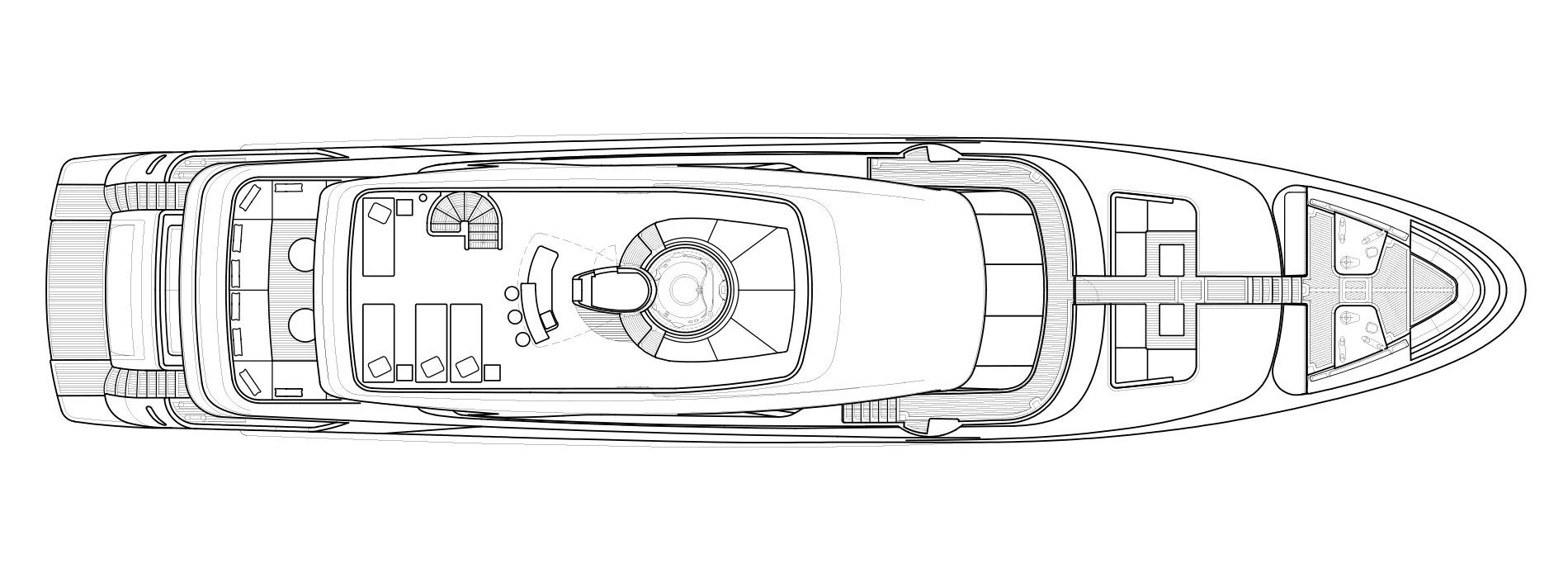 Sanlorenzo Yachts SD126 Flying bridge Version A