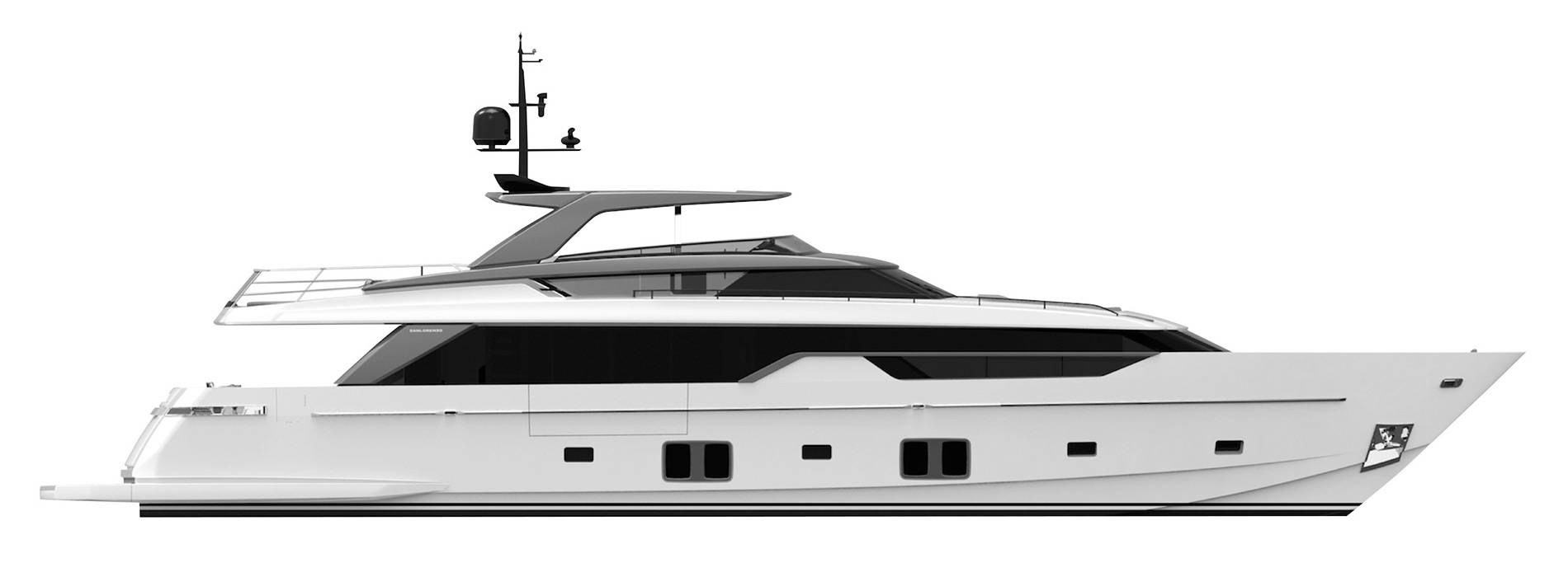 Sanlorenzo Yachts SL102 Asymmetric Profile
