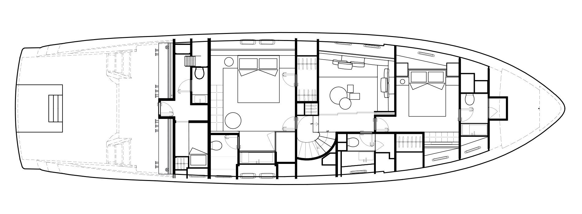 Sanlorenzo Yachts SX76 Lower Deck Version Lissoni