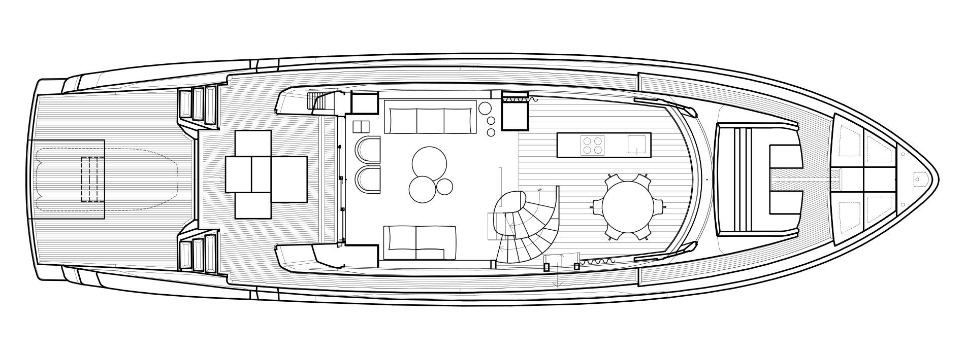 Sanlorenzo Yachts SX76 Main deck Version Lissoni