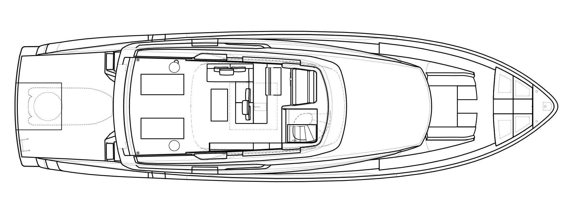 Sanlorenzo Yachts SX76 Flying bridge Version Lissoni