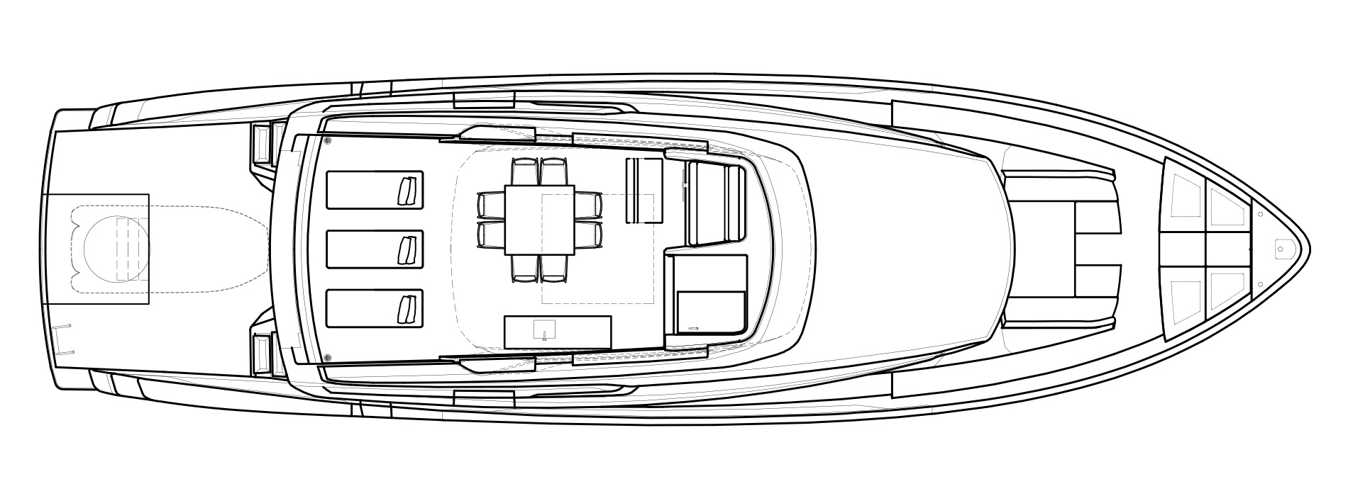 Sanlorenzo Yachts SX76 Flying bridge Version A