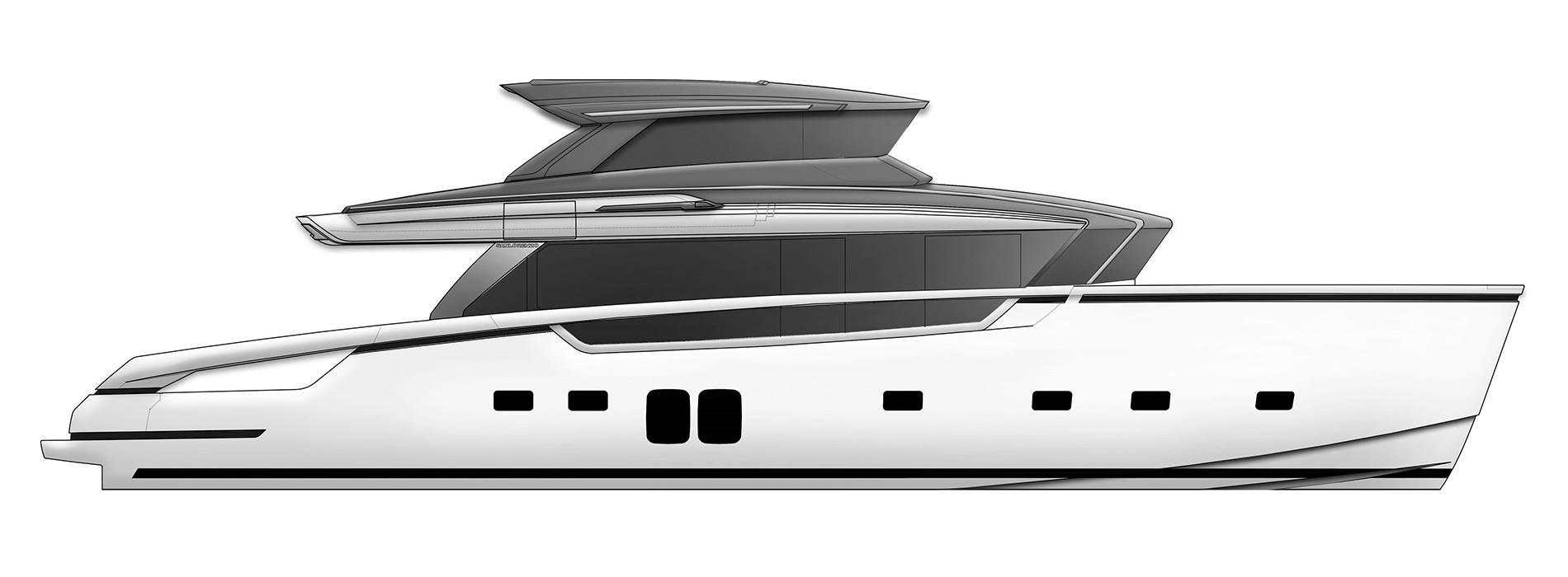 Sanlorenzo Yachts SX76 Profile